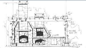 Outdoor fireplace with pizza oven plans