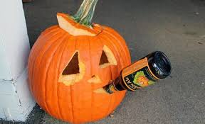 Puking Pumpkin Pattern by Pumpkin Carving Ideas For The Drunkered I Mean Beer Lover
