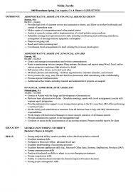 Financial Administrative Assistant Resume Samples | Velvet ... Executive Administrative Assistant Resume Example Full Guide 12 Samples Financial Velvet And Templates The Ultimate To Leading Professional Store Cover Best Examples Skills Tips Office Sample