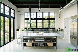 wohnzimmer design ideen küche ohne oberschränke 75