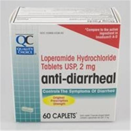C.D.M.A. 0379646 QC Anti-Diarrheal 60 Caps