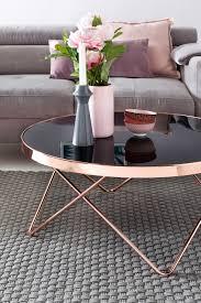 finebuy couchtisch glas ø 82 cm metall wohnzimmertisch modern glastisch rund sofatisch wohnzimmer schwarz moderner metalltisch mit glasplatte
