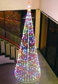 Led Tree Lit Trees Pre Christmas Costco 75 Foot Sale Haochen