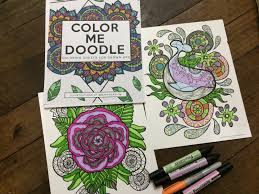 Color Me Doodle Are Coloring Sheets For Grown Ups And Mark Dean Lim Launched It Just This Year He Sent A Few Months Back But Until Now I Still