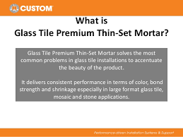 Thinset For Glass Mosaic Tile by Glass Tile Thin Set Mortar
