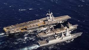 porte avions charles de gaulle le navire est arrivé à bon port et