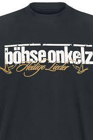 Bã Hse Onkelz Kuchen Und Bier Jezero Taupo Odtok Strgalo Böhse Onkelz T Shirt