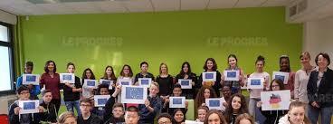education les élèves allemands au collège jean philippe rameau