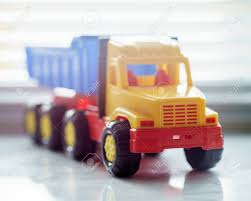 Toy Ttipper Truck, Industrial Vehicle, Plastic Dump Truck Yellow ...