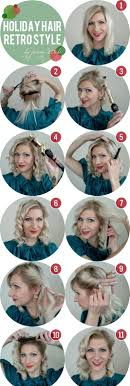 1000 Ideas About Easy Vintage Hairstyles On Pinterest