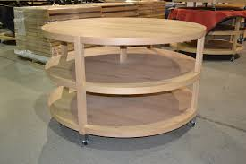 Round Retail Display Tables