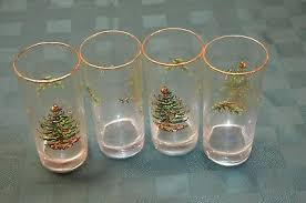 Spode Christmas Tree Highball Glasses by Spode Christmas Tree Highball Glass 15oz Set Of 4 19 95 Picclick Uk