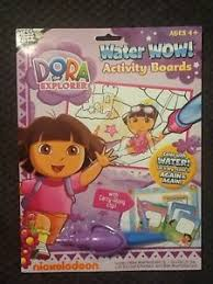 Image Is Loading Dora The Explorer Water Wow Activity Boards Nick