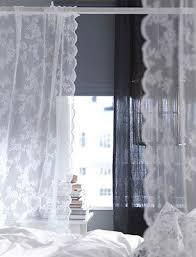 ikea gardine alvine spets vorhang dekoschal vorhänge