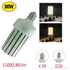 best 480v input led corn bulb light 80 watt replace 250w metal