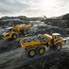 100 Dump Trucks Videos Articulated Dump Truck Rubbertired Diesel For Construction