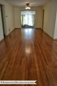 DIY Refinished Hardwood Floors From Addicted2decorating