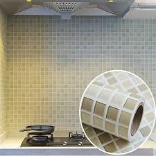 3d mosaik kachel tapete pvc badezimmer küche wasserfest
