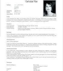 Resume Format International Elegant Sample Download