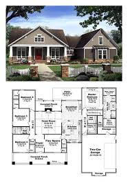 Craftsman Style Floor Plans Bungalow by 150 Best House Plans Images On Pinterest Architecture Country