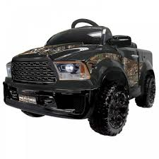 100 Mud Truck Pictures KidPlay Kids Ride On Realtree Camo 12V Battery Powered Electric Car