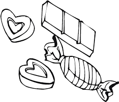 Printable Candy Coloring Pages Me