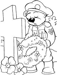Memorial Day Coloring Pages Bunch Of Flowers