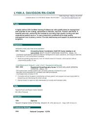 Resume Examples For Rn Jobs Packed With Professional Nursing Templates On Informatics