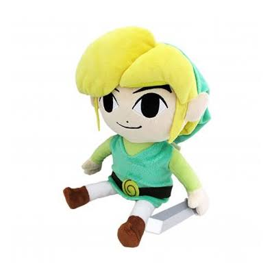 Legend of Zelda Wind Waker Link Plush - 8''