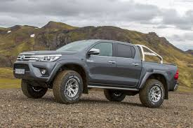 100 Hilux Truck Toyota Launches AT35 At CV Show 2018 New Arctic S Built