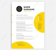 Yellow CV Resume Template - Curriculum Vitae Sample Vector Design.. 50 Best Cv Resume Templates Of 2018 Free For Job In Psd Word Designers Cover Template Downloads 25 Beautiful 2019 Dovethemes Top 14 To Download Also Great Selling Office Letter References For Digital Instant The Angelia Clean And Designer Psddaddycom Editable Curriculum Vitae Layout Professional Design Steven 70 Welldesigned Examples Your Inspiration 75 Connie