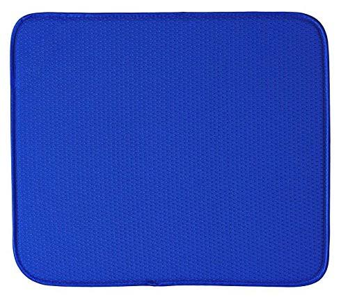 Envision Home Dish Drying Mat - 16 18 - Blue