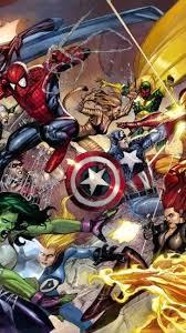 Marvel Universe Wallpaper ·â'
