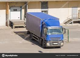 100 Truck Doors Loading Goods Cargo Warehouse With Doors Stock Photo