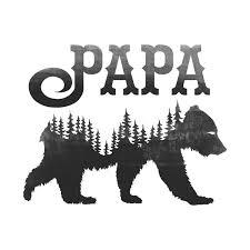Papa Bear Black