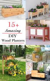 more than 15 of the most amazing diy wooden planter box ideas on