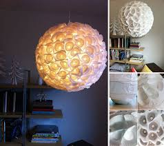 Paper Orb Light From Cupcake Liners