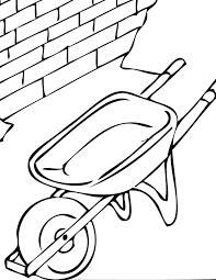Wheelbarrow Drawing