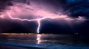 Thunderstorm And Rain Sounds Over The Ocean 10 Hours Sleep Music