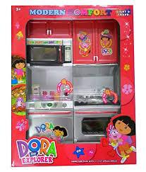 azi small dora plastic kitchen set for kids at glowroad 7yank9