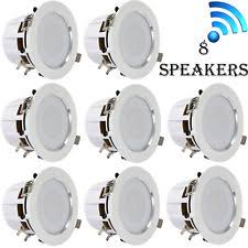 white home speakers and subwoofers ebay