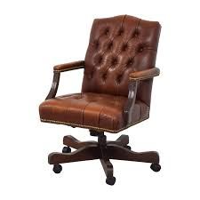 79% OFF - Ethan Allen Ethan Allen Brown Leather Desk Chair / Chairs Broncos Leather Office Chair Pin On Watson St Ding Room Ethan Allen Company Wikipedia 64 Off Chairs Ethan Allen Desk Harley Lounge Philippines Home Types Fniture Decor Custom Design Free Help How To Adjust The Height Of An Overstockcom Camel Pare Prices Style Desk Used Lifedeco Executive Advantages
