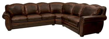 Rustic Western Style Sectional Sofas