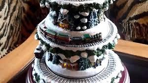 Thomas Kinkade Christmas Tree For Sale by Thomas Kinkade Wonderland Express Christmas Tree Train Youtube