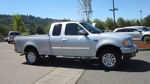 100 2001 Ford Truck F150 Silver STOCK 19694A YouTube