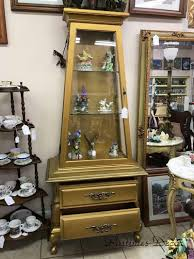 gold curio cabinet for sale pastimes decor antiques collectibles