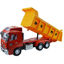 100 Large Dump Trucks XZJT Sound And Light Version Inertia Engineering Vehicle