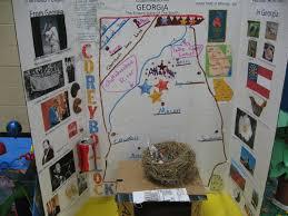 Georgia 2014 Corey 3D School ProjectsGeorgia