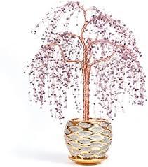 de vase 33 45 cm kristall baum dekoration home