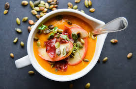 Pumpkin Bisque Recipe Vegan by Power Me Up With Spicy Pumpkin Soup U2013 A Tasty Love Story